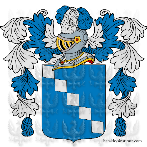 Coat of arms of family Minniti