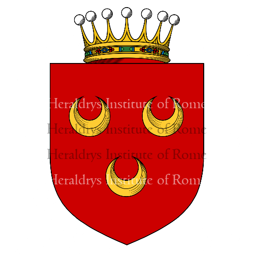 Coat of arms of family Crescenzio
