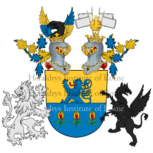 Coat of arms of family Krämer
