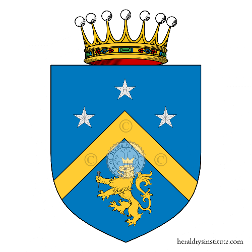 Coat of arms of family Chiodo