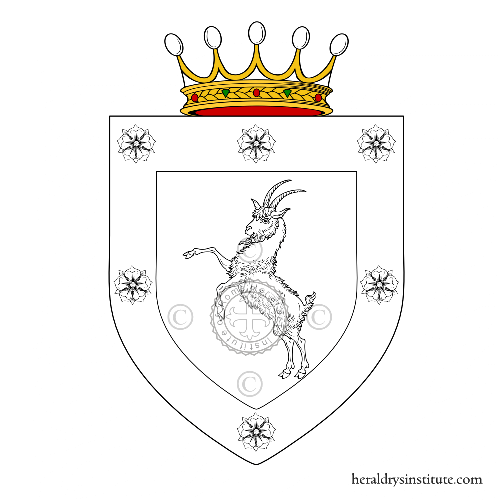 Coat of arms of family Vigorosi