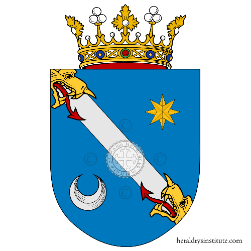Coat of arms of family Lage