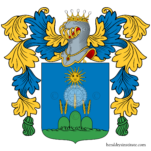 Coat of arms of family Menchetti