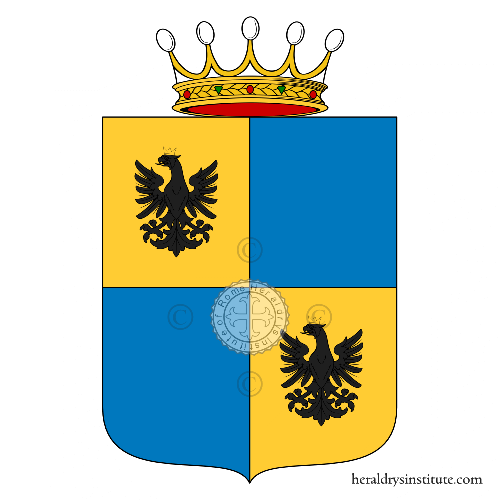 Coat of arms of family Paladini