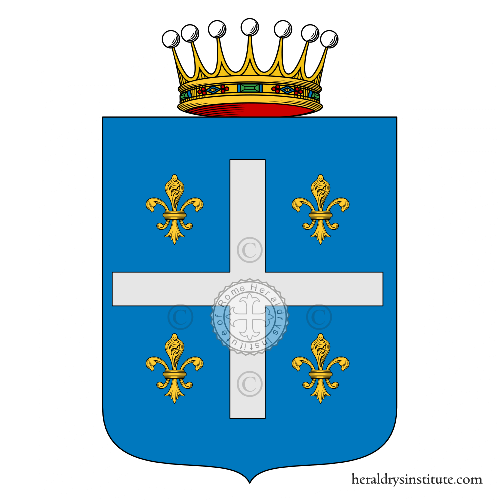 Coat of arms of family Palladini