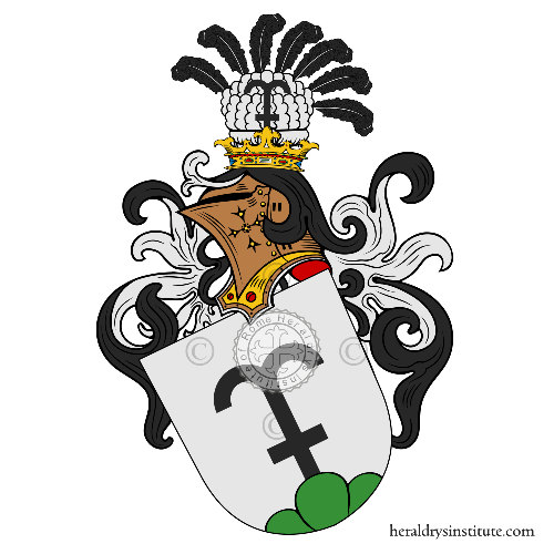 Coat of arms of family Staub