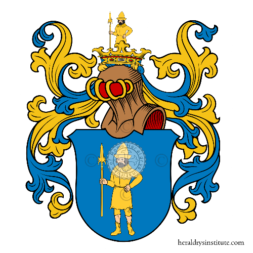 Coat of arms of family Schnabel