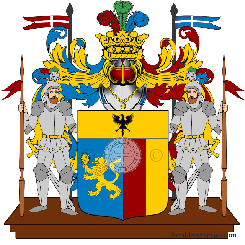 Coat of Arms of family Teula