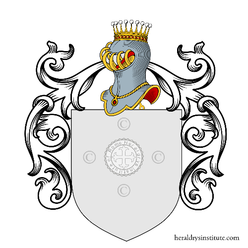 Coat of arms of family Lozzo
