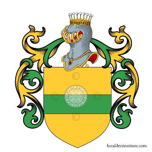 Coat of arms of family Maltraversi