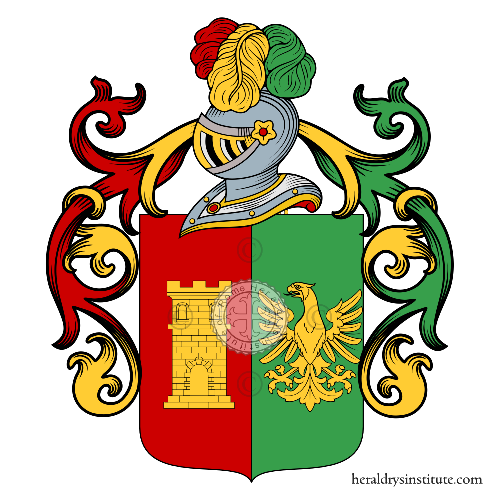 Coat of arms of family Puopolo