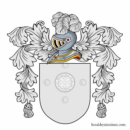 Coat of arms of family Perazzo
