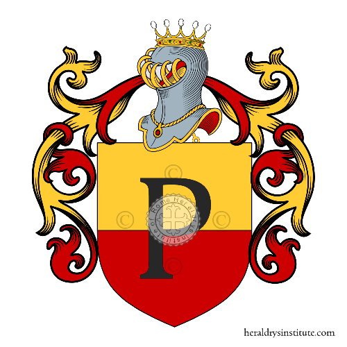 Coat of arms of family Popolo