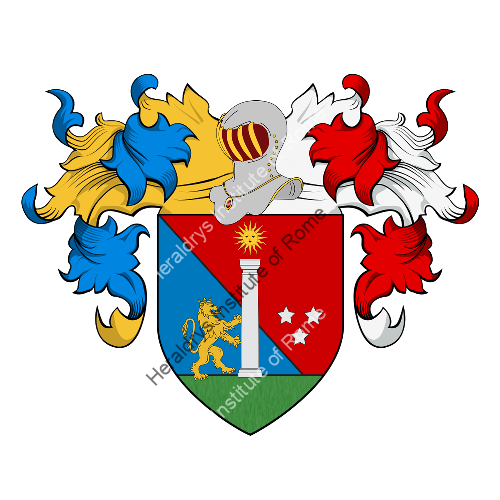 Coat of Arms of family Vincenziani