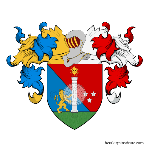 Coat of Arms of family Vincenzio
