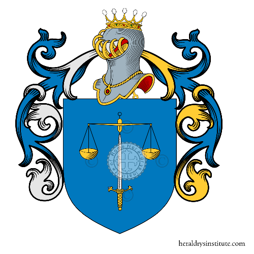 Coat of arms of family Panarello