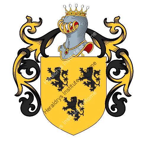Coat of arms of family Bonamici