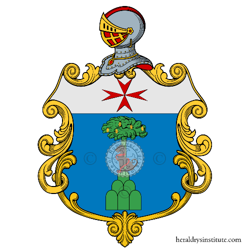Coat of arms of family Buonamici