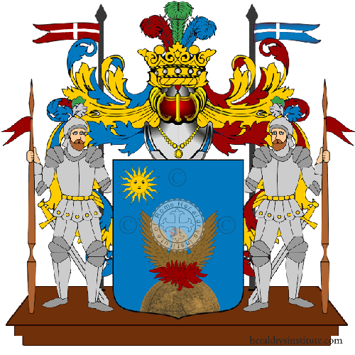 Coat of Arms of family Pucarelli