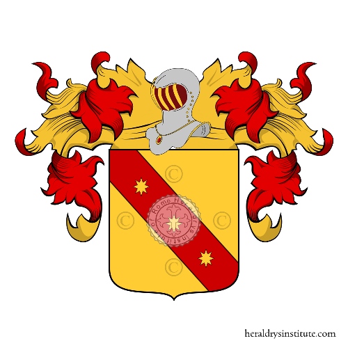 Coat of Arms of family Vucchini