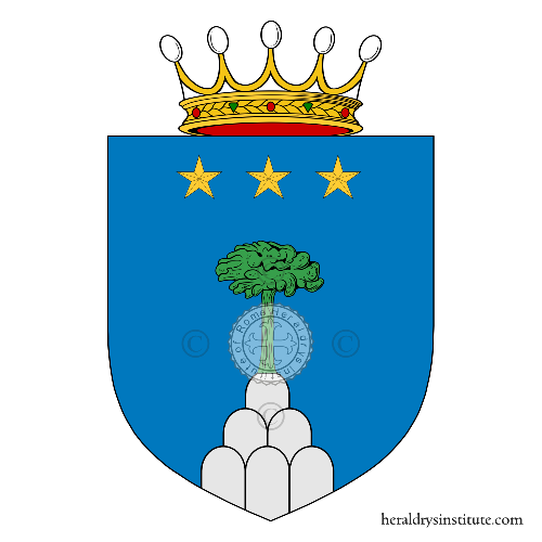 Coat of arms of family Montori