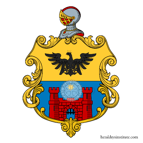 Coat of arms of family Tacchini