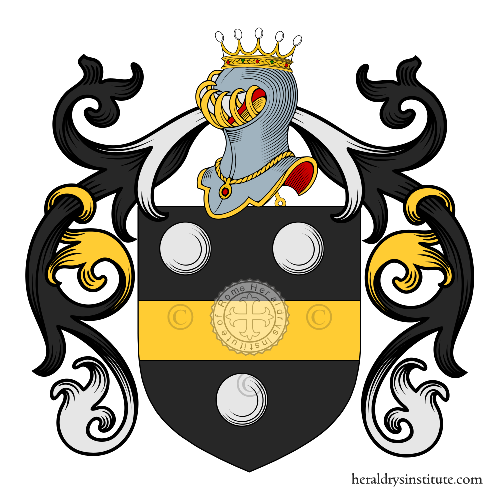 Coat of arms of family Maggioni