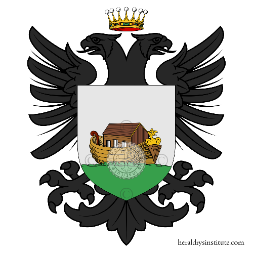 Coat of arms of family Arca (dell')