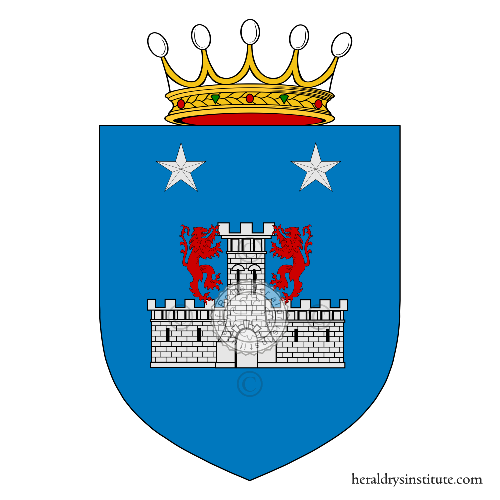 Coat of arms of family Laudisio