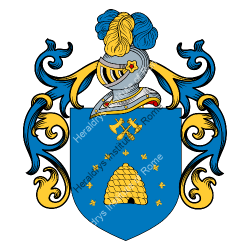 Coat of arms of family Damele