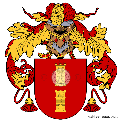 Coat of arms of family Maime