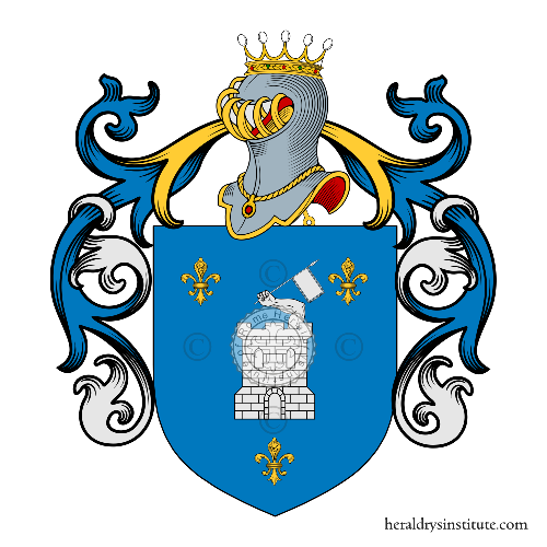 Coat of arms of family Alterio
