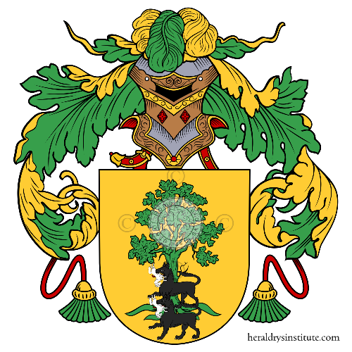 Coat of arms of family Climaco