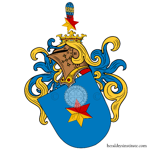 Coat of arms of family Hunt Pazman