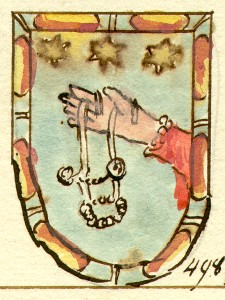 Coat of arms of family Morsiani