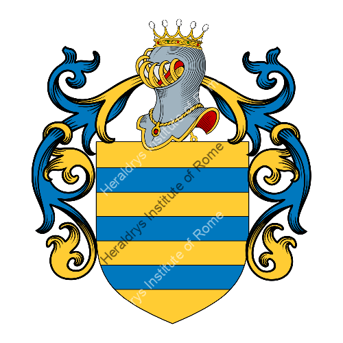 Coat of arms of family Darpin