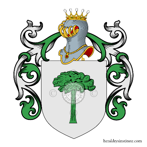 Coat of arms of family Togni Curioni