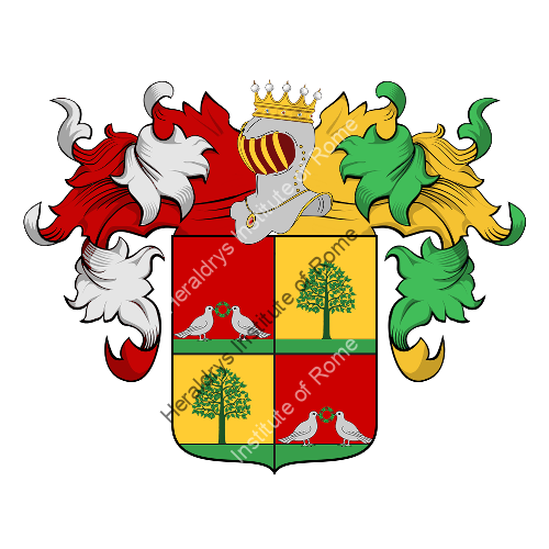 Coat of Arms of family Ascani