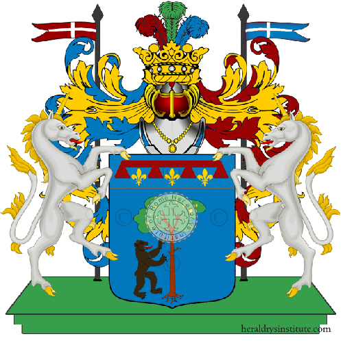 Coat of Arms of family Oluzzi