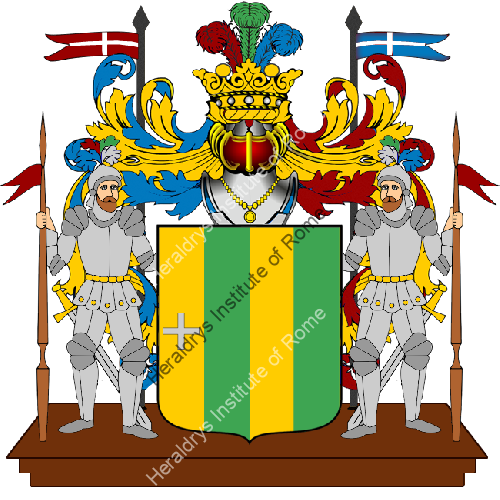 Coat of arms of family Agunzo