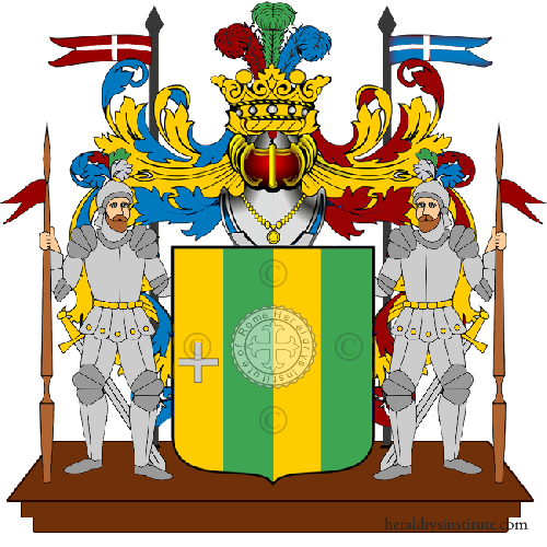 Coat of arms of family Martinuzzi
