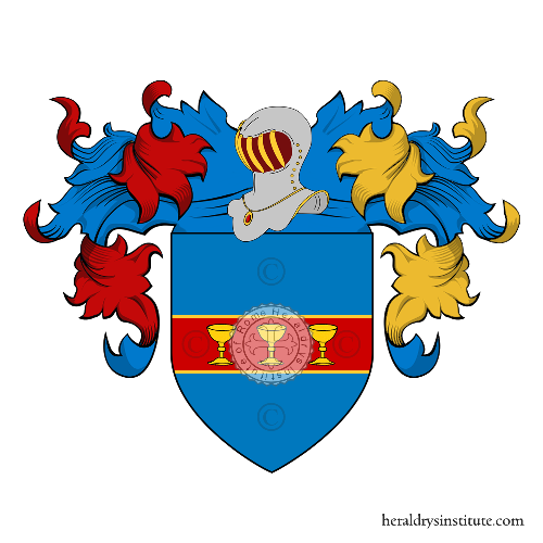 Coat of Arms of family Pacile