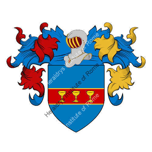 Coat of Arms of family Scossa