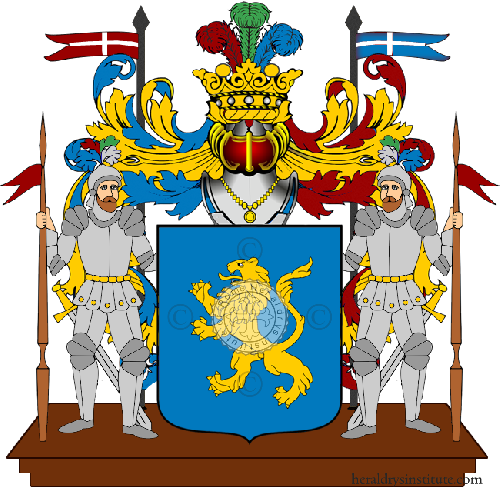 Coat of Arms of family Nune