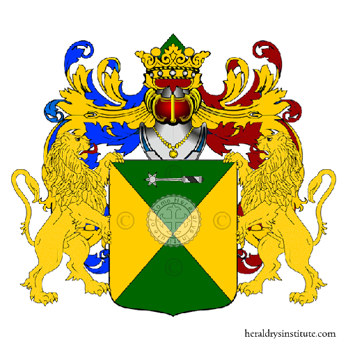 Coat of Arms of family Zizzetti