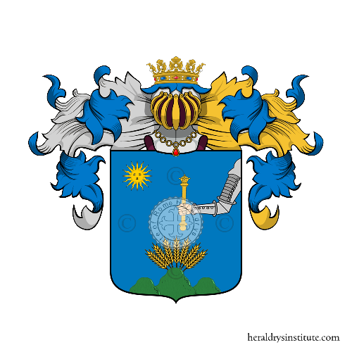 Coat of Arms of family Mazzacchi