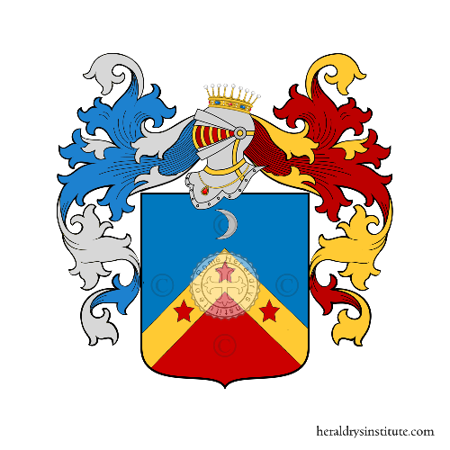 Coat of Arms of family Novato