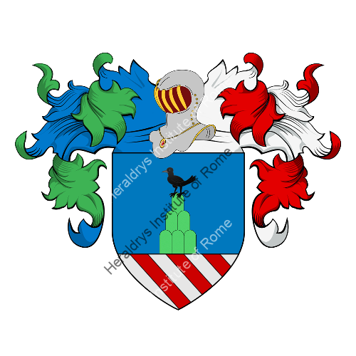 Coat of Arms of family Merliani