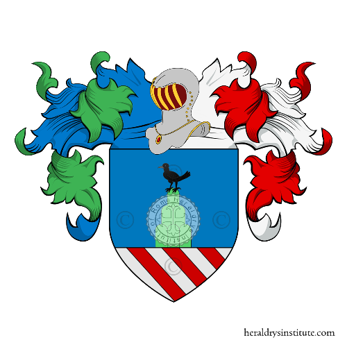 Coat of Arms of family Merlitti