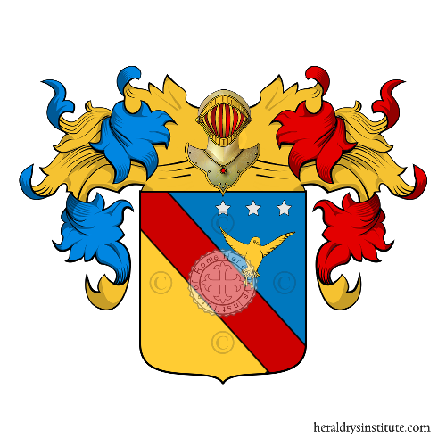Coat of Arms of family Merlomghi